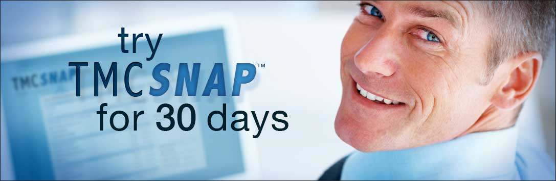Try TMC SNAP Free for 30 Days